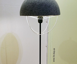 Wool Lamp, warm light