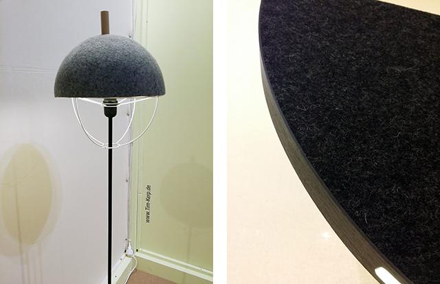 "Left: lamp designed by Tim Kerp / Right: ""Amulet"" by Johan van Hengel"