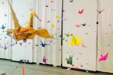 Hiroshima- paper crane transformation project