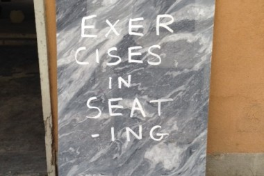 Exercises and Seating – Max Lamb Exhibition