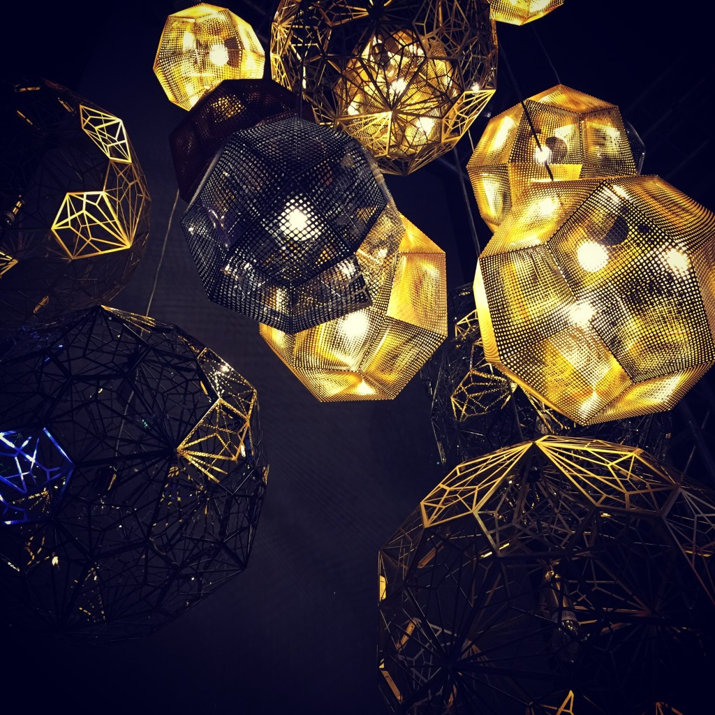 Etch Lamp by Tom Dixon