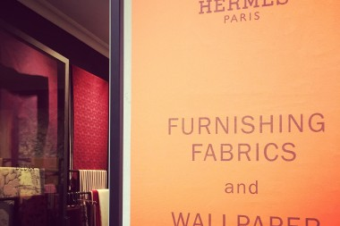Hermès the Furnishing Fabrics and the Wallpapers
