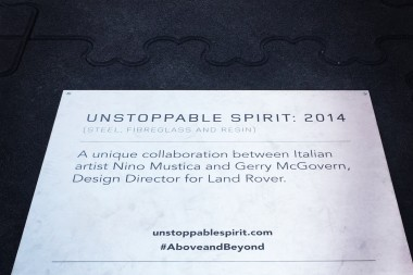 Unstoppable Spirit by Land Rover @Piazza Gae Aulenti